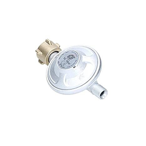 ECD Germany 50 MBAR Gas Pressure Reducer + Gas Pipe Hose 150 cm