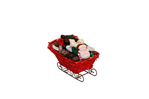 Holiday Sled filled with Gourmet Chocolates ()