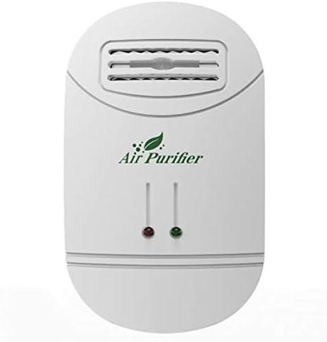 Kamenda Purificador de Aire Ionizador para el Generador de Iones Negativos de Aire Eliminar Formaldehído Humo Purificación de Polvo Hogar Desodorante de Habitación Enchufe EU