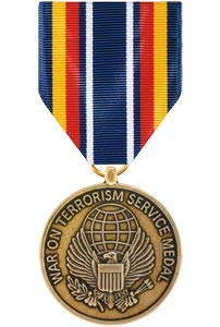 Medals of America Global War On Terrorism Service Medal Full Size Bronze (Army Global War On Terrorism Ribbon Criteria)