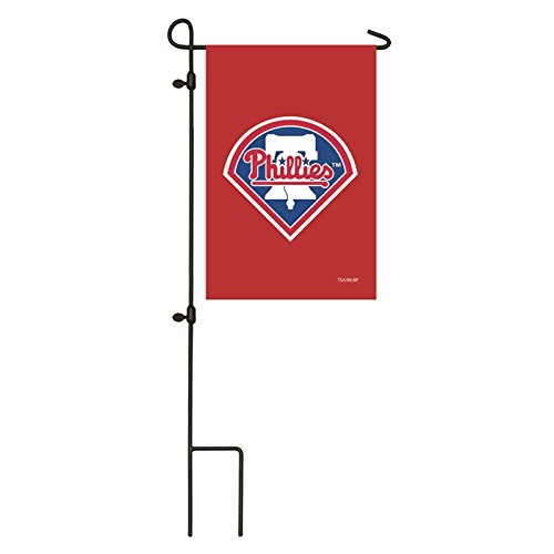 zable Embroidered Garden Size MLB Flag, Philadelphia Phillies ()