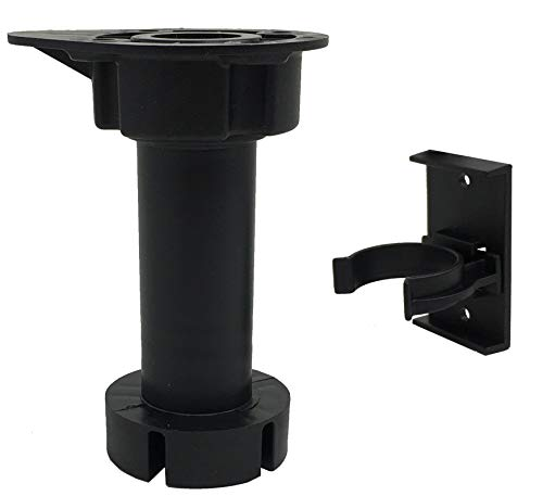 Desunia Cabinet Leveler Legs - 330 Lb. Capacity per Leg - Adjusts from 3 7/8