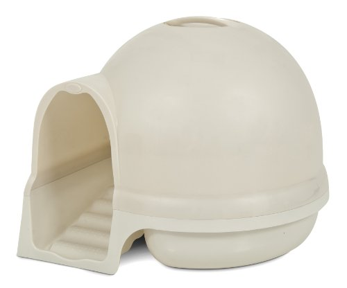 Booda Dome Cleanstep Cat Box, white