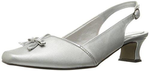 Easy Street Women's Mercury Wedge Pump Silver buy cheap 100% original Zwfe9