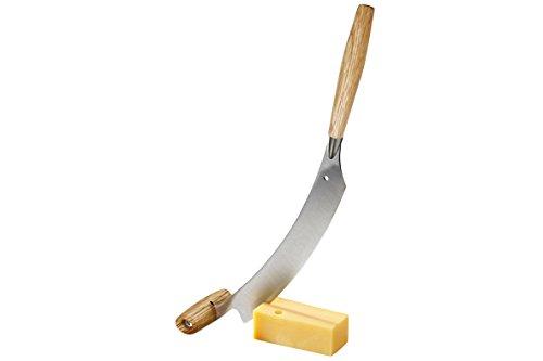 Boska Holland Dutch Cheese & Pizza Knife, Oak Wood, Double Handle, 10 Year Guarantee, Life Collection by Boska Holland (Image #1)