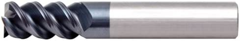 Alfa Tools SCH91640AL 5//8X5//8 Center Cutting 3 Flute 60/° AlTiN Carbide Single End Mill Made In USA,