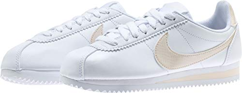 Multicolore Nike Gorge Gymnastique Femme Chaussures Light de Cream Green Cortez Classic 001 White gqxf8rqY