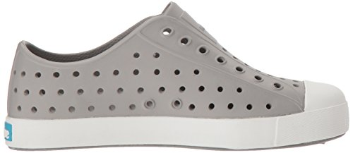 Native Kids Jefferson Junior Water Proof Shoes, Pigeon Grey/Shell White, 2 Medium US Little Kid by Native Shoes (Image #7)