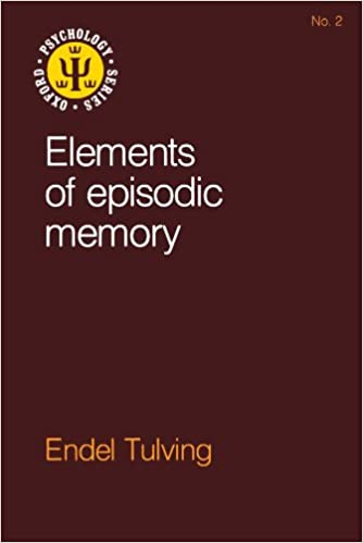 Cover of Elements of Episodic Memory by Endel Tulving