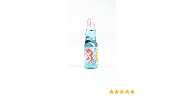 Hatakosen - Ramune Bebida Gaseosa Japonesa Sabor Original Sellada Con Canica 200Ml: Amazon.es: Alimentación y bebidas