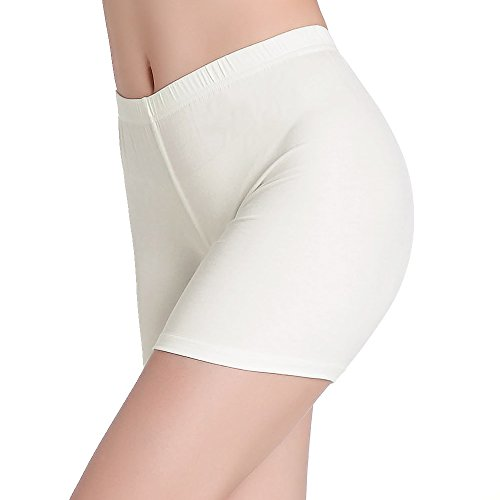 CnlanRow Womens Under Skirt Pants Soft Ultra Stretch Short Leggings Fitness Sport Shorts