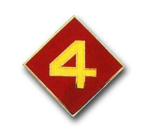 US Marine Corps 4th Division Lapel ()