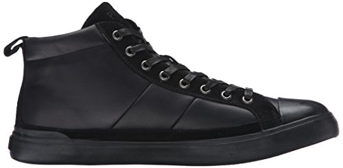 Ralph Lauren Mens Clarke Smithoil Sportside Leather Trainers Black