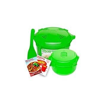 Amazon.com: Sistema Microwave Collection Rice Cooker, 87.2