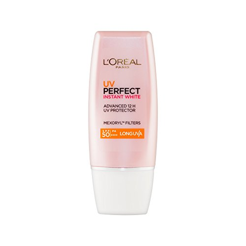 L'OREAL PARIS UV PERFECT INSTANT WHITE SPF 50+/ PA++++ 30 ml. (W) (California Tan Lip)