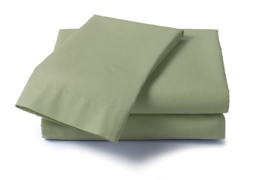 Dreamz 400 Thread Count Specialty Size Sheet Set, Dual King, Sage ()