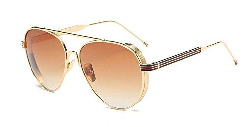 en lunettes vintage métallique cercle inspirées Gradients de Lennon Thé polarisées soleil retro style du rond de xqzqvHr0Pw