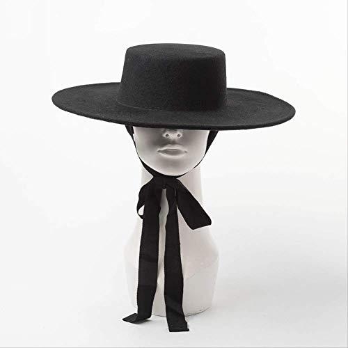 ZAAQ Felt Fedora Hat Ladies...