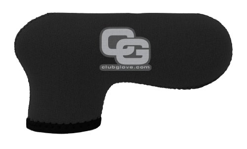 Putter Glove (Club Glove Deluxe Neoprene Blade Putter Cover (Black))