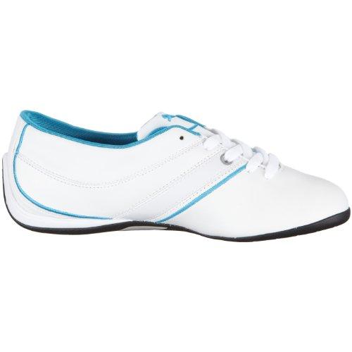 Puma wn del jet cat 303399, zapatilla de deporte para mujer Blanco (White-White-Hawaiian Ocean)