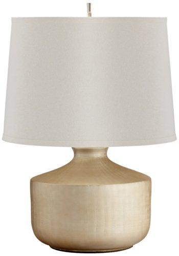 Titanium Love Silver Ceramic Table Lamp by Cyan Designs