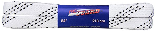 Proguard Sonic Tipped Heavy Weight Hockey Lace  , White, 96-Inch