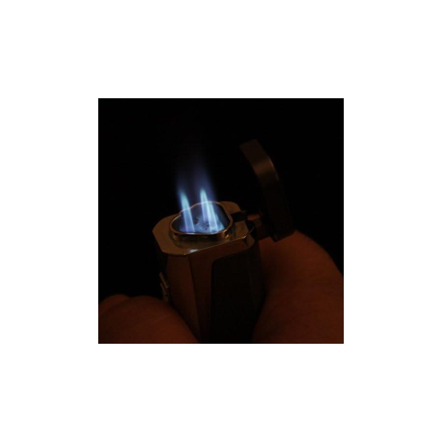 Scorch Torch Skyline Triple Jet Flame Butane Torch Cigarette Cigar Lighter w/Punch Cutter Tool