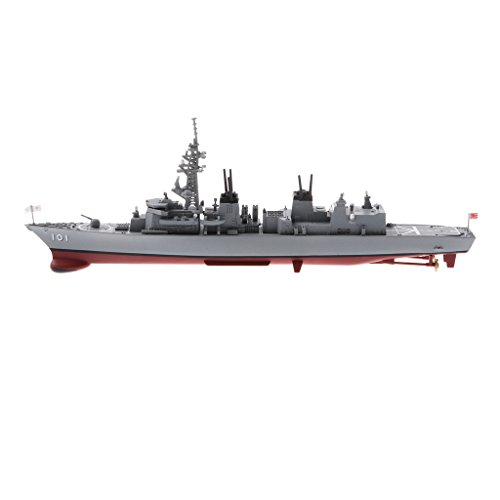 Baoblaze 1:900 Scale Battlefield Japan Murasame Destroyer DD-101 Diecast Vehicle Boat Ship Model Collection Toy Showcase Display from Baoblaze