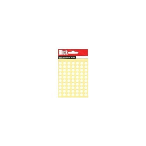 Blick Label Bag 8mm Wht Pk490 000853 ()