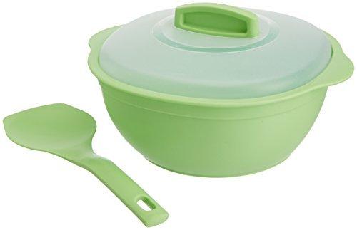 Signoraware Cook N Serve Medium, 1 Litre, Parrot Green