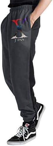 X JAPAN メンズ スウェットパンツ トレーニングパンツ ロングパンツ ジョガーパンツ ゆるシルエットおしゃれ 秋 冬