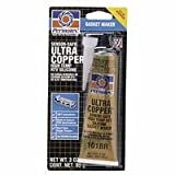 #101 Ultra Copper Maximum Temp Gasket Maker 3Oz, Sold As 1 Each