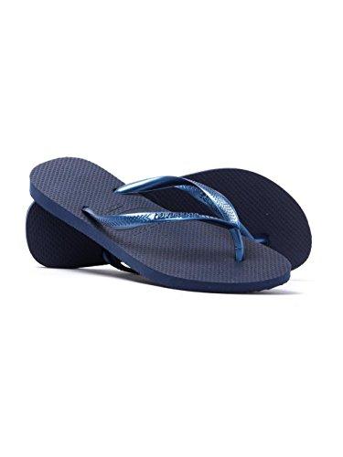 Havaianas Tong Femme Slim - - Navy Blue, 37/38 EU EU