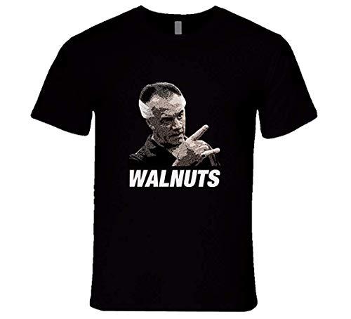 Paulie Sopranos Tshirt Walnuts Sopranos T-Shirt,Black,Medium