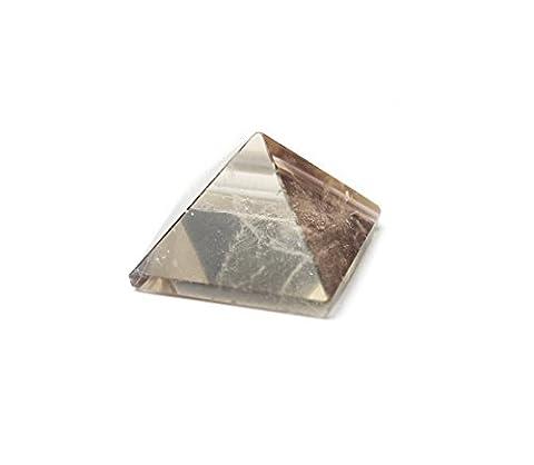 Smoky Quartz Crystal Pyramid .75