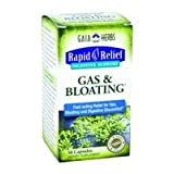 Gaia Herbs Gas & Bloating Digestive Support, 50-capsule Bottle ( Multi-Pack)