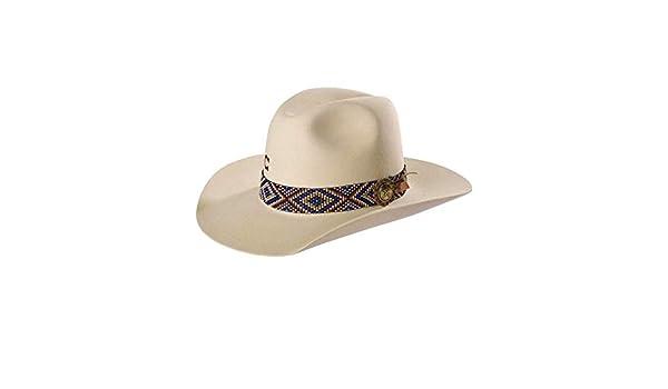 c46356b544f Charlie 1 Horse Unisex Ivory Old Hag 5X Felt Hat at Amazon Men s Clothing  store
