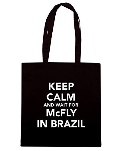 CALM BRAZIL FOR Nera KEEP Borsa IN Shirt WAIT Shopper AND MCFLY Speed TKC1530 xz7Yqnw
