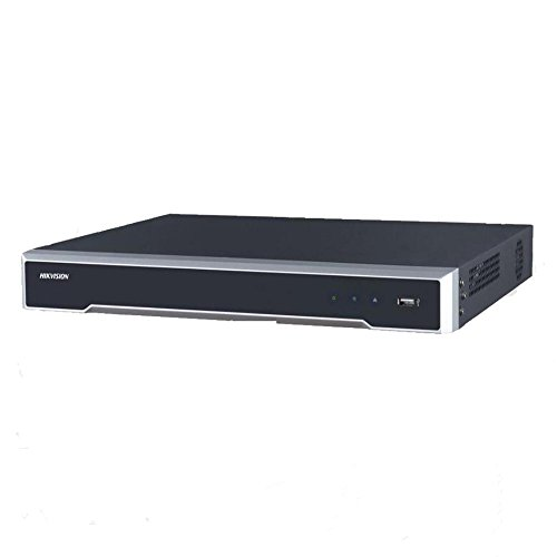 Hikvision 16 Channel NVR DS-7616NI-K2/16P Embedded Plug & Play 4K NVR H.265 PoE Network Video Recorder Support Upgrade
