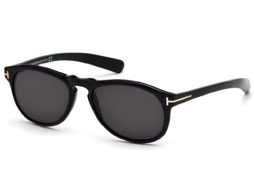 Tom Ford FT0291 01B Flynn Sunglasses, Black Frames & Grey Gradient Lens, - Tom Black Ford Flynn