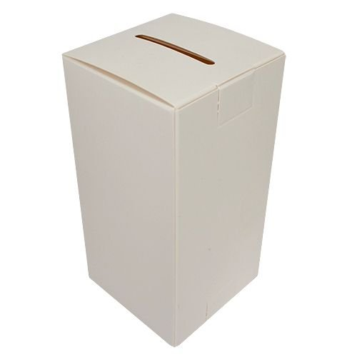 Square Donation Can or Fundraising Charity Box Cardboard Package of 50 Boxes