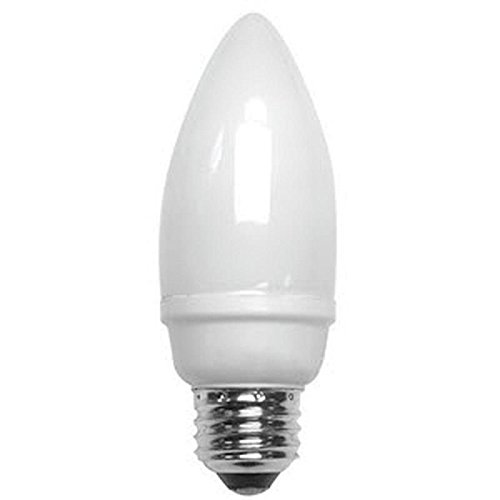 TCP 14W, B10 Screw-In Fluorescent Light Bulb
