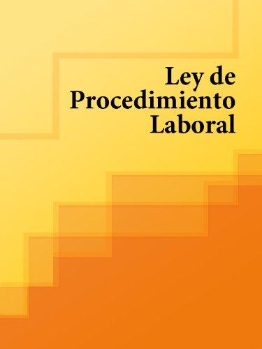 Descargar Libro Ley De Procedimiento Laboral España