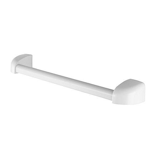 Suporte Toalha Plástico Banho Pincéis Atlas Branco 40cm