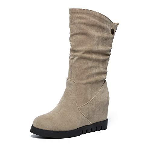 Sandalen met Mns02738 1to9 sleehak Abrikozenvrouw wnOA1fqq0