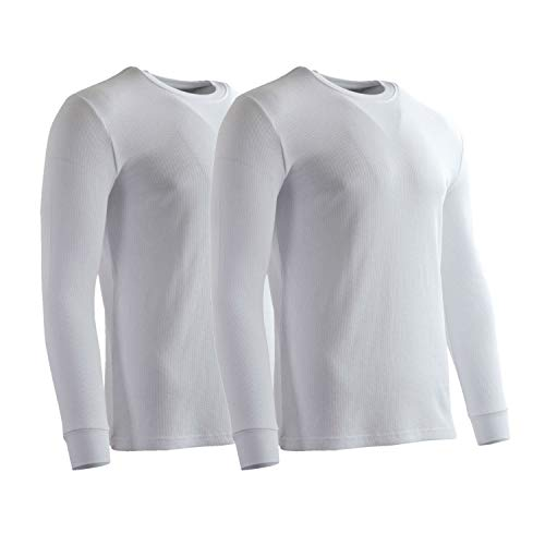 (Rich Cotton Thermal 230 (White - 2 Pack, M) )