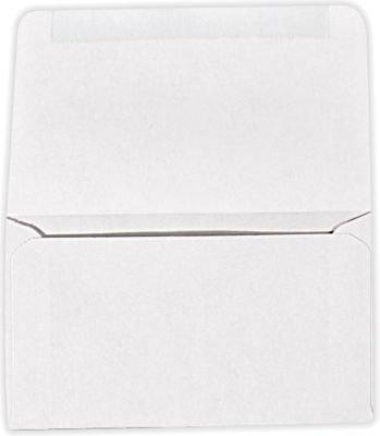 6 3/4 Remittance Envelopes (3 5/8 x 6 1/2 Closed) - 24lb. Bright White (250 - Envelopes Remittance