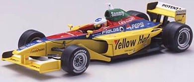 1/43 フォーミュラニッポン '04 ローラ B351 イエローハット KONDO Racing Team Sammy #3(イエロー×ブルー×レッド) 43610