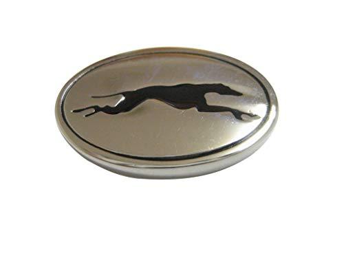 (Kiola Designs Oval Greyhound Dog Pendant Magnet)