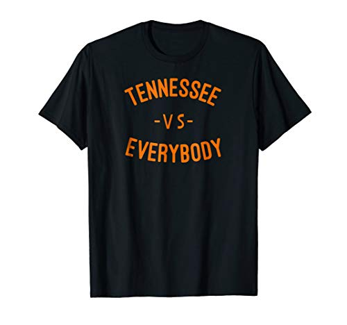 Tennessee VS All Yall T-shirt Knoxville Southern T shirt